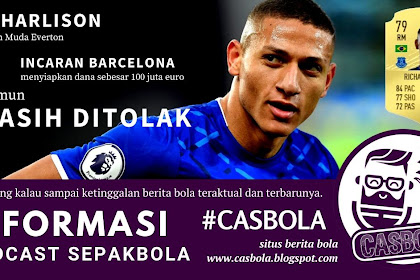Richarlison Incaran Barcelona Dan Manchester United