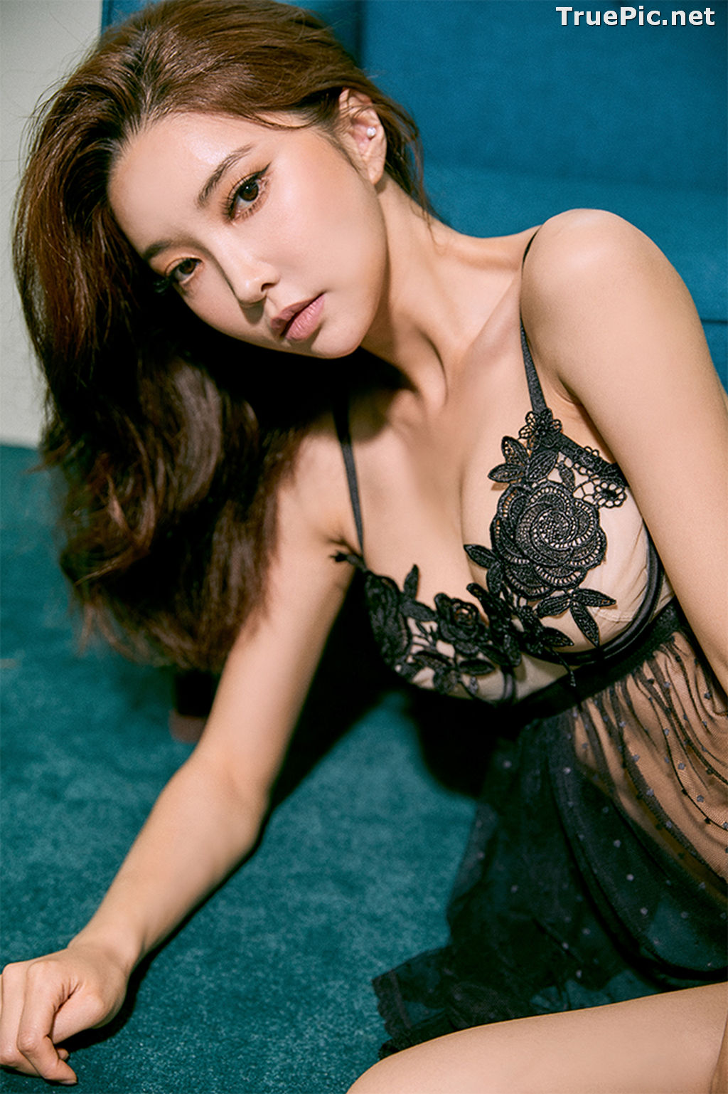 Image Korean Fashion Model – Park Soo Yeon (박수연) – Come On Vincent Lingerie #1 - TruePic.net - Picture-6