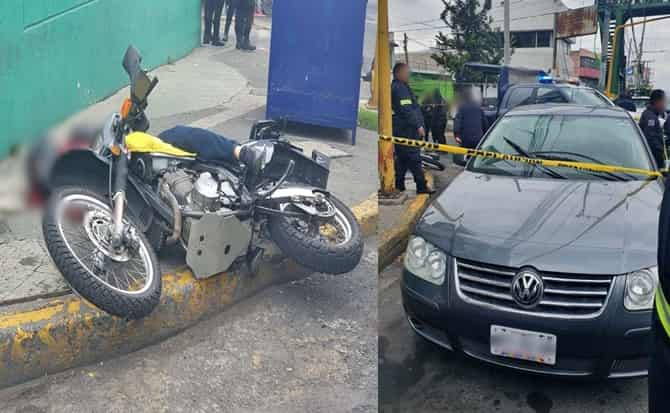 seguridad, policiaca, motocicleta asaltante,