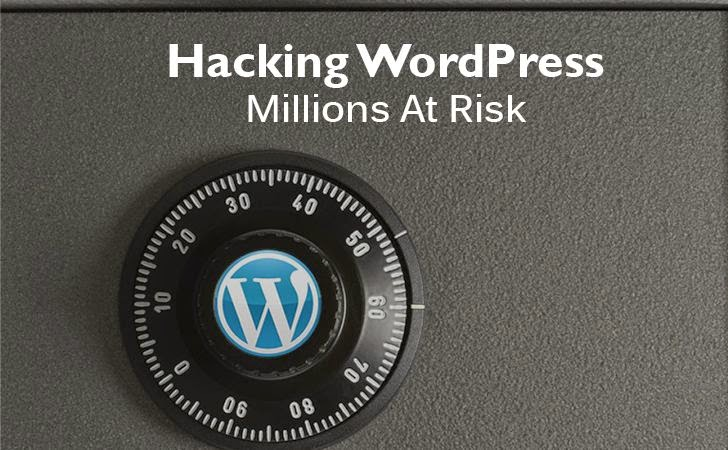 WordPress Vulnerability Puts Millions of Websites At Risk