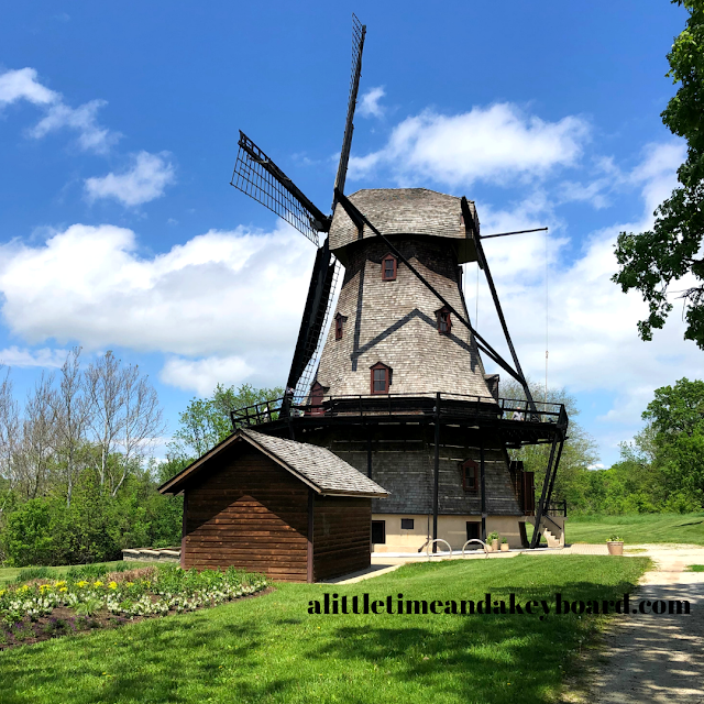 Captivated by Fabyan Windmill an authentic Dutch style windmill in Geneva, Illinois