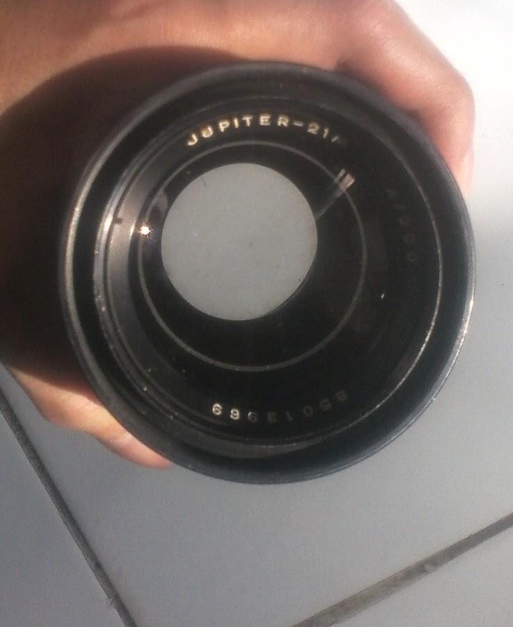Jupiter 21m 200mm f/4 depan