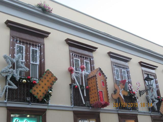 sehr schöne Dekorationen gab es auch in La Orotava anzuschauen!