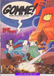 Gomme!, numéro 13, 1982, Hank et Tonky