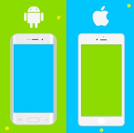 Android Phone Better Than an IPHONE, iPhone vs Android. Samsung vs Apple, infodunia