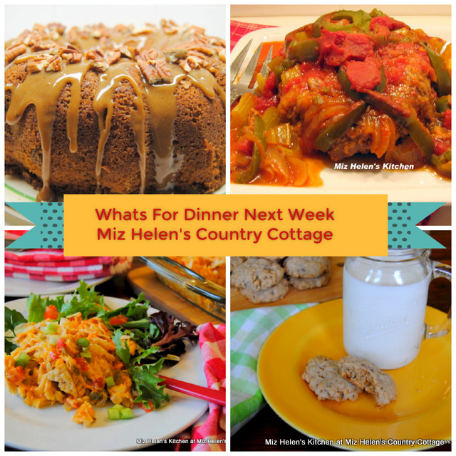 Whats For Dinner Next Week * Week of 1-10-21