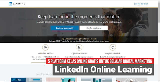 LinkedIn Online Learning