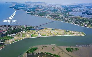 Đô thị marine city vũng tàu