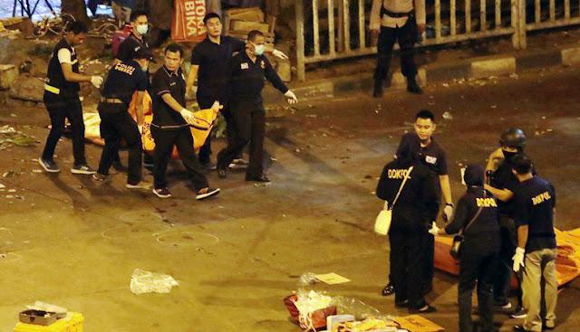 Innalillahi, Bom Kampung Melayu Teror Umat Islam, 5 Meninggal Dunia, 10 Luka Berat