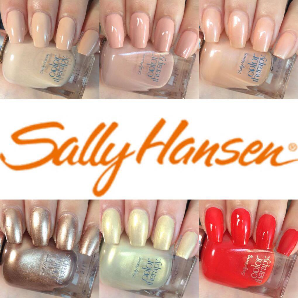 New Sally Hansen Argan Oil Polish Shades Swatch And Review