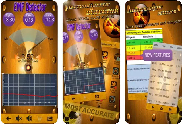 Aplikasi Pendeteksi Radiasi EMF Gratis Terbaik-6