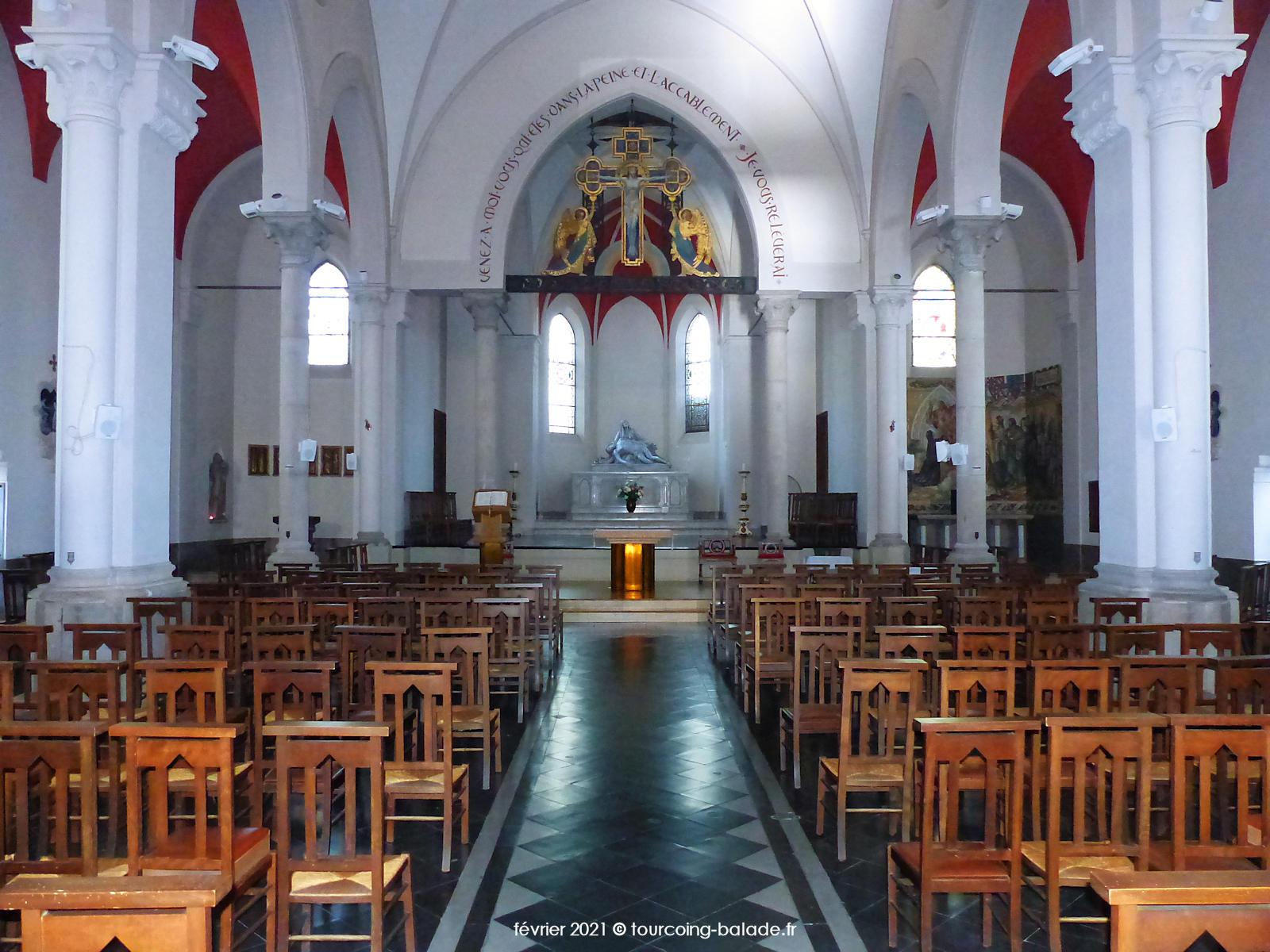 Nef de l'église Notre-Dame de Consolation, Tourcoing
