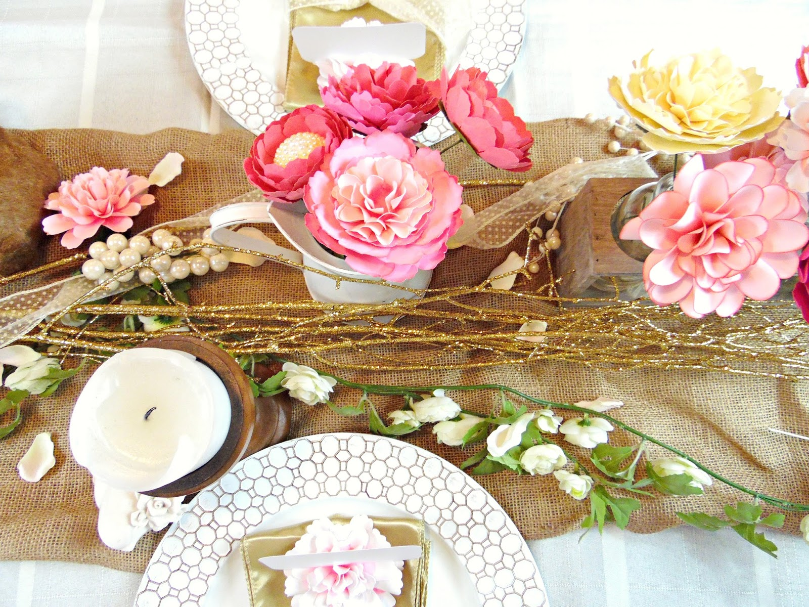 Mamas Gone Crafty Warm Up To Spring With These Tablescape Ideas