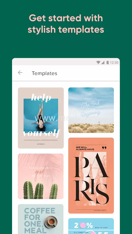 Over: Edit & Add Text to Photos (MOD, Pro Unlocked)
