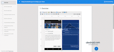 Mengimplementasi ConstraintLayout Android CodeLabs