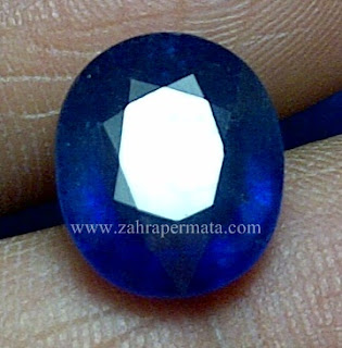 Batu Permata Royal Blue Saphire - ZP 647