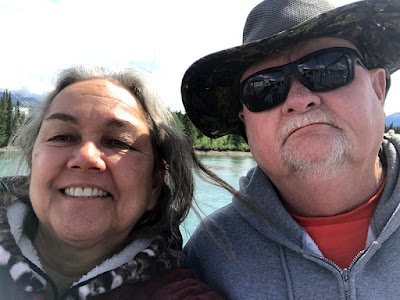 Us – Selfie on the S.S. Klondike