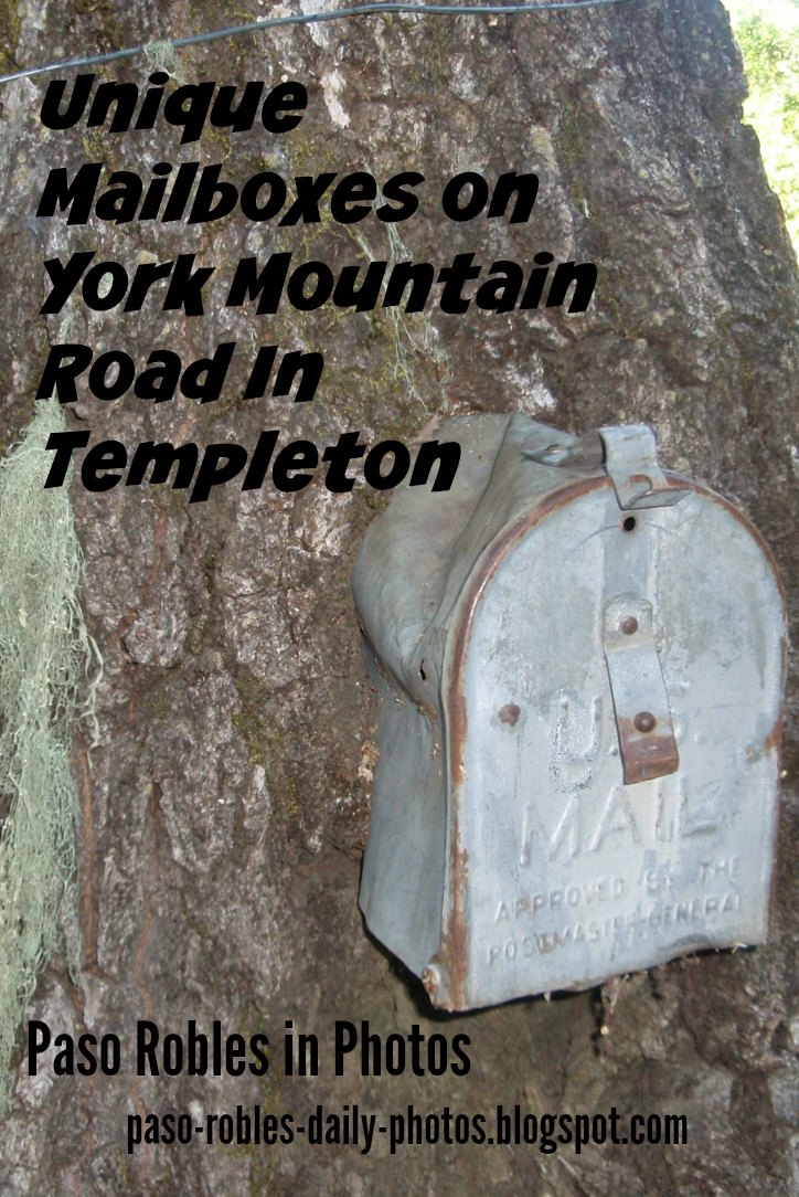 Unique Mailboxes on York Mountain Road In Templeton
