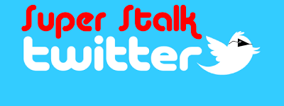 Cara super stalk Twitter orang