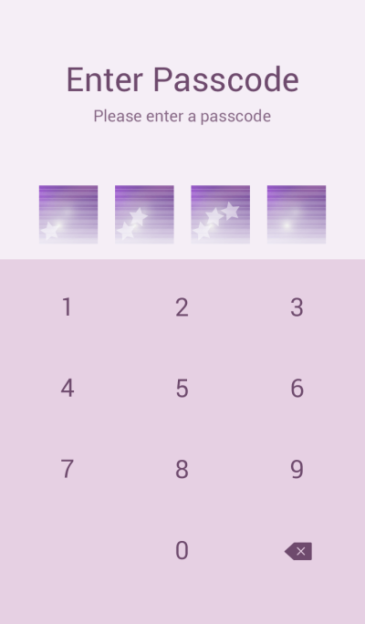 Purple tone harmony