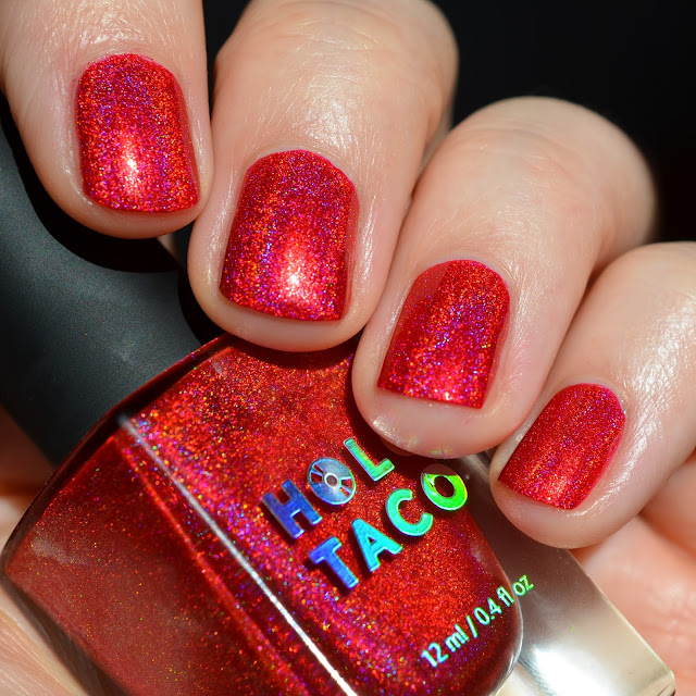 Holo Taco Red Licorice swatch