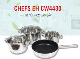 Bộ nồi chảo từ Chef's 3 chiếc CH-CW4430