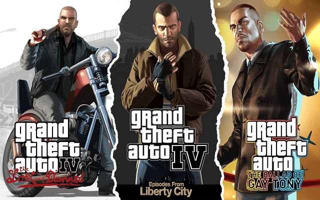 تحميل لعبة gta episodes from liberty city بحجم صغير