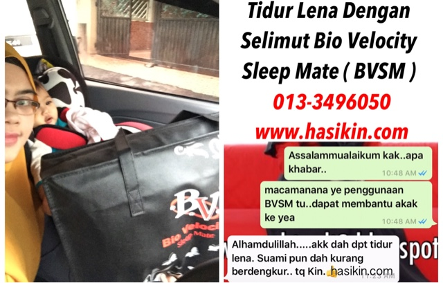 RAWATAN SUSAH TIDUR IMSOMNIA DENGAN TILAM BVSM BIO VELOCITY SLEEP MATE