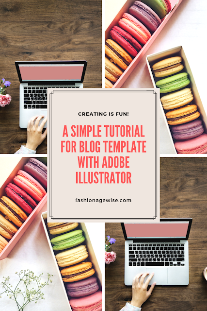 image result A Simple Tutorial For Blog Template With Adobe Illustrator