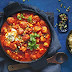 Moroccan chicken meatball tagine