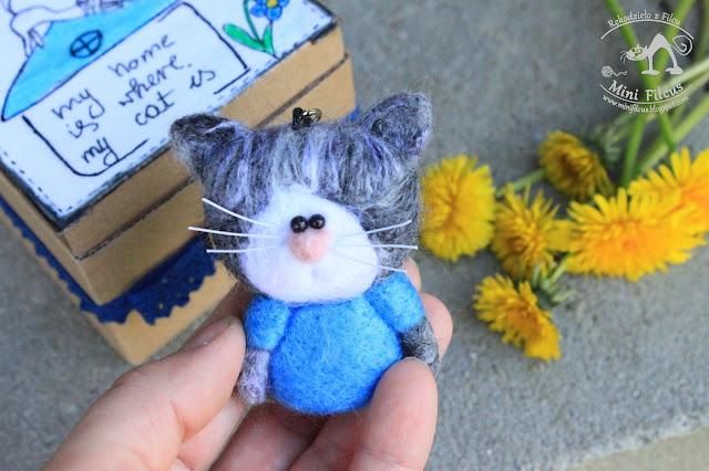 Niebieski Kotek