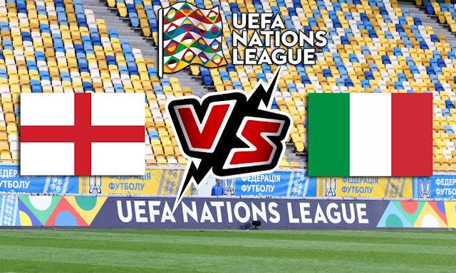 ايطاليا وإنجلترا بث مباشر