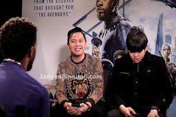 Gokil!! Tim2One menginterview pemain Black Panther