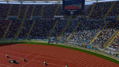 PES 2019 Stadium Olimpico ( SS Lazio ) by Omarbonvi