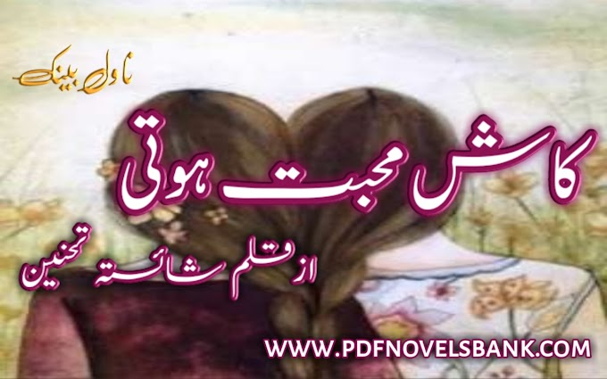 Kash Mohabbat Hoti by Shaista Tehneen Novel Complete Pdf Download