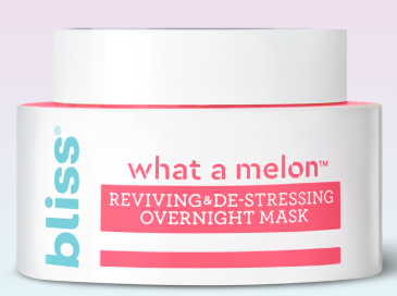 Review: bliss what a melon reviving & de-stressing overnight mask