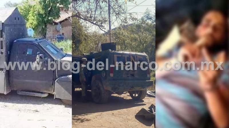 """En 5 días el CJNG blinda trocas y camiones """"monstruo"""", confiesa """"El Jay"""" sicario levantado por """"La Familia Michoacana"""" en Guerrero"""