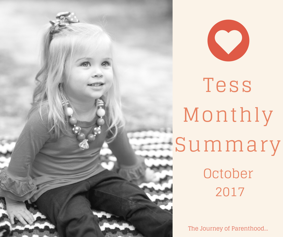 Tess Monthly Summary: October 2017