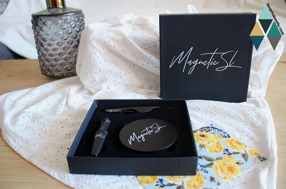 revue beauté faux cils magnétiques et kit eyeliner magnetic sl