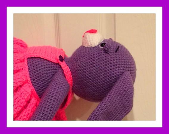 Angelina Ballerina crochet mouse | Crochet mouse, Crochet ... | 450x568