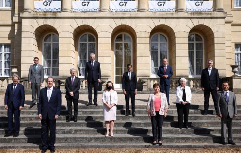 Kelompok Tujuh (G7) Negara Maju Sepakat Targetkan Pajak 15 Persen dari Raksasa Teknologi
