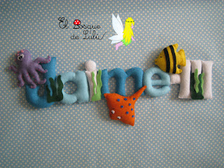 nombre-fieltro-Jaime-elbosquedelulu-hechoamanoparati-regalo-personalizado-name-banner-baby-room-decoración-infantil