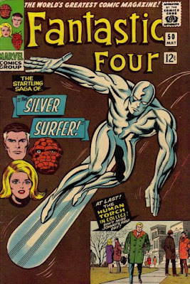 Fantastic Four #50, Silver Surfer