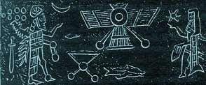 Desenho dos Anunnakis