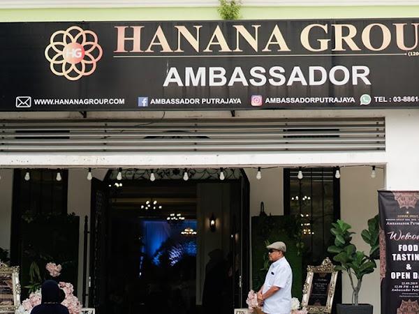 Ambassador Putrajaya sediakan pakej perkahwinan terbaik.