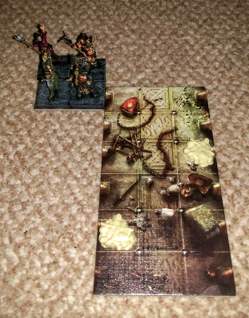 (the Dwarf is still continuing his stalemate against his undead counterpart)