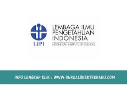 Lowongan Kerja Lembaga Ilmu Pengetahuan Indonesia (LIPI) Juli 2018