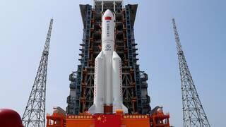 سكاى نيوز: قيادة الفضاء الأمريكية تؤكد سقوط بقايا الصاروخ الصينى فى المحيط الهندى