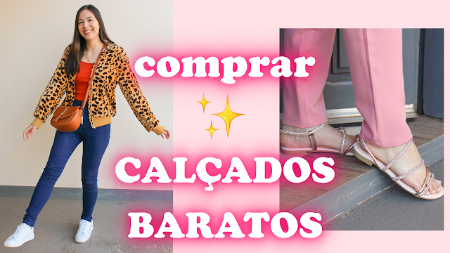 Onde comprar calçados baratos e estilosos online!