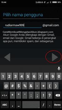 langkah membuat email di gmail